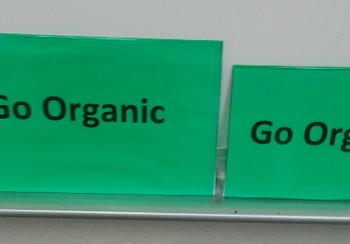 Green PVC Vinyl Signage